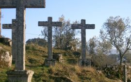 Mount Calvary in Soutelinho do Monte