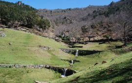 Cascades on Escarpa de Valoura