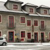Casa Fontes coberta de neve